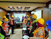 تعليم الغربية تنفذ التدريب على خطة الإخلاء مبنى ديوان المديرية