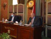 شكرى يؤكد لقيادات الوزارة دورهم الهام لتنفيذ أولويات السياسة الخارجية المصرية