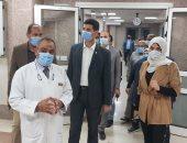 نائبا محافظ القليوبية يتابعان المستشفيات التى تقدم الخدمة الطبية لمصابى كورونا