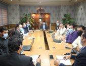 وزير الشباب والرياضة يلتقى باللجنة المنظمة لبطولة العالم لليد
