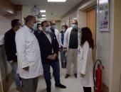 نائب محافظ الأقصر يتفقد مستشفى الكرنك الدولى قبل دخول التأمين الصحى