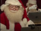 """بابا نويل يحتفل مع الأطفال """"أونلاين"""" فى بريطانيا بسبب كورونا.. فيديو وصور"""