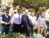 رئيس الإسكندرية الأزهرية يتابع إزالة الإشغالات من أمام معهد بنين محمد رجب
