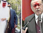أردوغان يعتمد على الأموال القطرية لتمويل المليشيات والجماعات الإرهابية فى المنطقة.. الرئيس التركى يبحث عن منقذ بعد فشله داخليا ومعاناة الاقتصاد خلال الفترة الأخيرة وتوقف العديد من المشروعات وتأزم الموقف بأنقرة