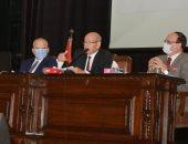 بدء تسليم شقق مشروع إسكان جامعة القاهرة بأكتوبر نهاية ديسمبر