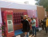 إزالة كشك مخالف بشارع أحمد عرابى بمدينة الأقصر