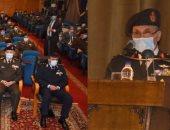 وزير الدفاع يشهد مناقشة البحث الرئيسى لهيئة عمليات القوات المسلحة