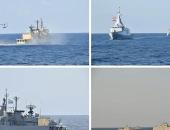 القوات البحرية المصرية واليونانية تنفذان تدريبا بحريا عابرا بالبحر المتوسط.. أخبار مصر