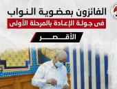 أسماء الفائزين بجولة الإعادة بانتخابات النواب بـ3 دوائر فى الأقصر.. إنفوجراف