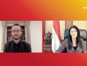 وزيرة التعاون الدولى تدعو لزيادة مشاركة النساء فى المناصب القيادية