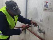 بدء تنفيذ مبادرة تركيب القطع الموفرة لترشيد استهلاك المياه بدور العبادة بالأقصر