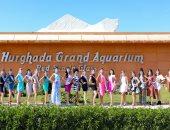 25 صورة ترصد جولات ملكات جمال العالم للسياحة والبيئة بالغردقة