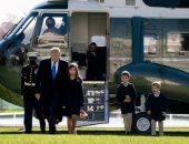 إيفانكا ترامب تنشر صورا عائلية برفقة أبنائها فى عيد الشكر وتوجه رسالة إلى والدها