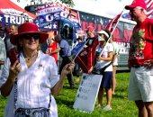 صور.. أمريكيون يطلقون مسيرات داعمه للرئيس ترامب من فلوريدا