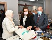 وزيرة التخطيط تفتتح مدرسة تابعة لجمعية خيرية في عزبة خير الله