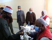 انطلاق المبادرة الرئاسية للكشف عن فيروس c لطلاب الإعدادى بمعهد بنين القرنة.. صور