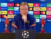 كومان يتحدث عن دعم جماهير برشلونة والتتويج بالدورى الإسبانى