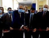 رئيس جامعة المنصورة يفتتح المرحلة الثانية لتطوير وحدات تعليمية بكلية الهندسة