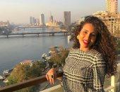 الشاعرة منة القيعى تقدم أغنية مهرجان القاهرة السينمائى