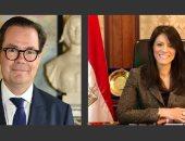 وزيرة التعاون تبحث مع السفير الفرنسى تعزيز العلاقات الاقتصادية