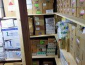 التحفظ على 7 آلاف علبة أدوية بكفر الشيخ