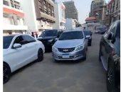 النشرة المرورية.. كثافات متحركة بالمحاور الرئيسية فى القاهرة والجيزة