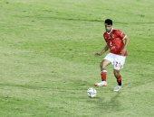 طاهر محمد طاهر يحتفل بأول مباراة مع القلعة الحمراء: مبروك لجمهور الأهلى