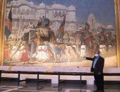 اترممت فى 20 سنة.. عرض أكبر لوحة فنية فى العالم بالهند
