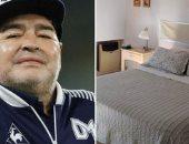 صور تظهر غياب الاشتراطات الطبية فى منزل مارادونا بأيامه الأخيرة