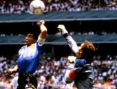 هل تم عرض قميص مارادونا فى مباراة هدفه باليد الشهيرة بكأس العالم للبيع؟