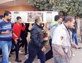 صلاة الجنازة على جثمان اللاعب محمد الفكهانى ببنى سويف.. فيديو
