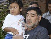 الكشف عن رسالة باكية من مارادونا لصديق شريكته السابقة قبل وفاته