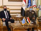 وزير الدفاع يلتقى نظيره اليونانى خلال زيارته الرسمية بجمهورية مصر العربية