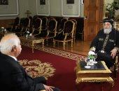 """البابا تواضروس: طريقة المرضى فى """"التناول"""" جائز فى ظل كورونا ولدينا 500 كنيسة بالخارج"""
