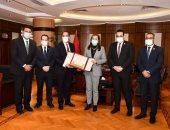 تنسيقية شباب الأحزاب تهنئ الدكتورة هالة السعيد لحصولها على جائزة التميز الحكومى