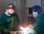 نجاح ولادة قيصرية لحالة اشتباه كورونا داخل مستشفى الأقصر العام