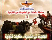 مؤسسة ماعت تطالب بزيادة الدعم التقنى للبلدان الواقعة على امتداد طرق تهريب المهاجرين غير الشرعيين