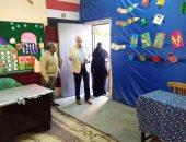 """وكيل """"تعليم الإسماعيلية"""" يتفقد عددا من المدارس المعدة كمقار للجان الانتخابية"""