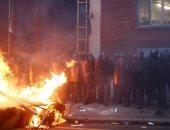 صور.. حرائق وأعمال عنف بين الأمن الفرنسي ومتظاهرين ضد قانون الأمن