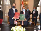 مصر توقع اتفاقية المشاركة المصرية البريطانية مع المملكة المتحدة.. صور