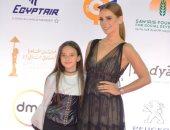"""إيمان العاصى تصطحب ابنتها على السجادة الحمراء لفيلمها """"عمار"""" فى مهرجان القاهرة"""