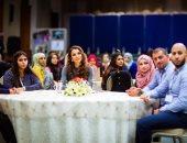 """الملكة رانيا فى اليوم العالمى للمتطوعين: """"أنتم قوة لا يستهان بطيب أثرها"""""""