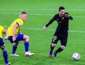 """قادش ضد برشلونة.. خطأ ساذج من شتيجن يكلف البارسا هدفًا ثانيًا 2-1 """"فيديو"""""""