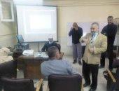 رئيس الإسكندرية الأزهرية يتفقد عدة تدريبات بمركز الخدمة والنشاط بميامى
