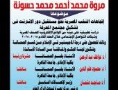 رسالة ماجستير عن مجتمع المعرفة المصرى فى جامعة القاهرة.. غدا