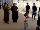 إقبال المواطنين على لجان حلوان و15 مايو والزيتون بجولة إعادة النواب