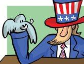 كاريكاتير اليوم.. الفيل الجمهوري مكسور أمام الحمار الديمقراطي في أمريكا