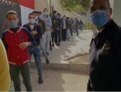 إقبال المواطنين على لجنة الشهيد حجاج مناع بمصر الجديدة