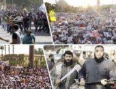 حملة اليوم السابع لتوثيق جرائم الإخوان فى اعتصام رابعة المسلح.. تهديدات الإرهابيين للمصريين بالقتل