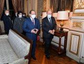 وزير خارجية فرنسا: زيارة الرئيس السيسى لباريس تدعم العلاقات بين البلدين